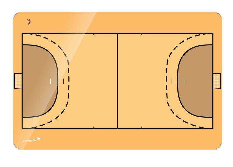 Legamaster Kézilabda taktikai tábla, 90x120 cm