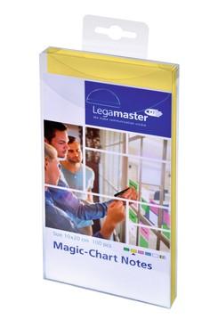 Magic-Chart Notes elekrosztatikus jegyzettömb 10x20cm sárga