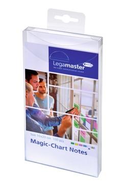 Magic-Chart Notes elekrosztatikus jegyzettömb 10x20cm fehér