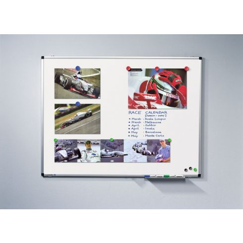 Legamaster PREMIUM mágneses fehér tábla (whiteboard), 120x240 cm