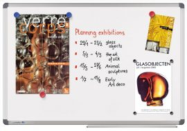 Legamaster Universal mágneses fehér tábla (whiteboard) 120x180 cm