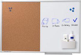 Legamaster Economy kombinált tábla, 90x120 cm