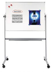 Legamaster ECONOMY forgatható mágneses fehér tábla (whiteboard), 100x150 cm