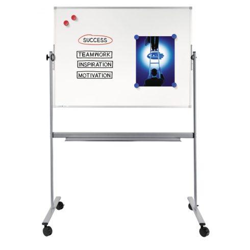 Legamaster ECONOMY forgatható mágneses fehér tábla (whiteboard) 100x200 cm