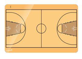 Legamaster Kosárlabda taktikai tábla, 90x120 cm