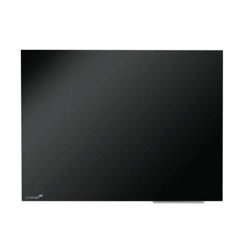 Legamaster Színes, mágneses üvegtábla, 90x120cm, fekete