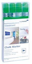 Legamaster Táblafilc üvegtáblákhoz, zöld, 4 db