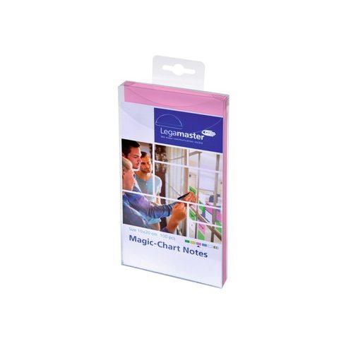 Magic-Chart Notes elekrosztatikus jegyzettömb 10x20cm rózsaszín