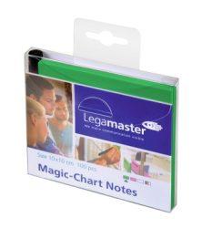 Magic-Chart Notes- elektrosztatikus jegyzettömb 10x10 cm zöld