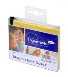 Magic-Chart Notes sárga 10x10 cm 100 db
