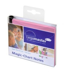 Magic-Chart Notes- elektrosztatikus jegyzettömb 10x10 cm rózsaszín