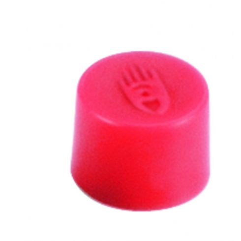 Táblamágnes, 10 mm, piros