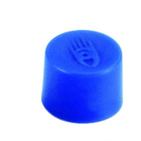 Táblamágnes, 10 mm, kék