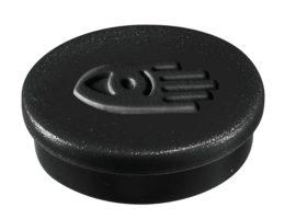 Táblamágnes, 20 mm, fekete
