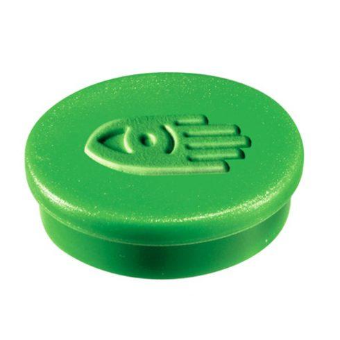 Táblamágnes, 20 mm, zöld