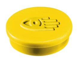 Táblamágnes, 30 mm, sárga