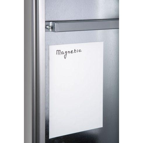 Mágneses lapok, fehér, 200x300 mm