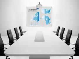 """PROFESSIONAL hybrid tábla FLEX 99"""" - rendszeres íráshoz és vetítéshez"""