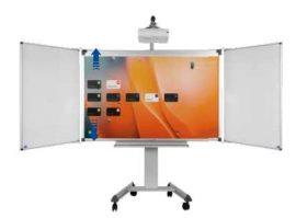 """Állítható magasságú guruló állvány Professional e-Board 87""""/93"""" interaktív táblákhoz"""