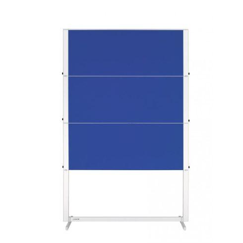 Legamaster PROFESSIONAL Mobile workshop tábla, összecsukható, kék