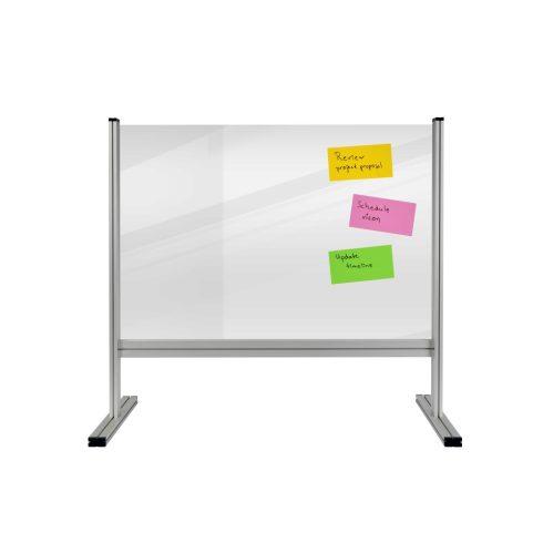 Economy íróasztali elválasztó tábla 65x100 cm, átlátszó (3 mm)