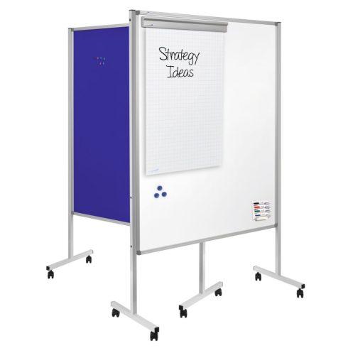 Legamaster Többfunkciós hordozható tábla, XL méret, kék