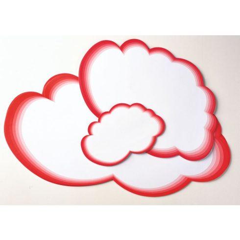 Felhő moderációs kártya (több méretben)