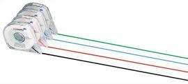 Elválasztó szalag tervezőtáblához, 1 mm x 16 méter, piros