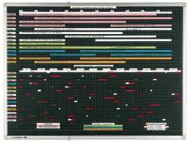 Legamaster Professional tervezőtábla, 120x170 cm