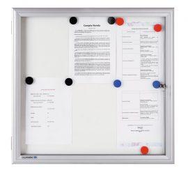 Legamaster Premium kültéri fali vitrin  69,2x73,0 cm