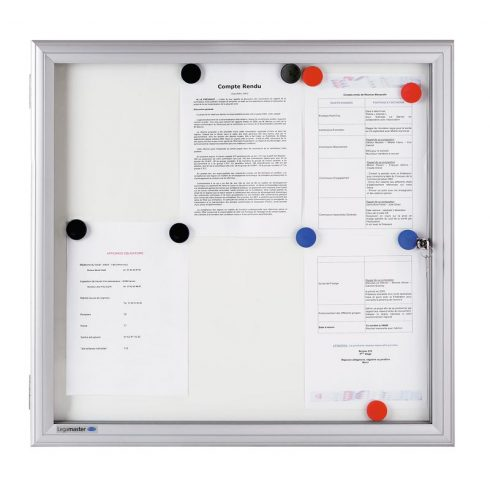 Legamaster Premium kültéri fali vitrin  98,9x94,0 cm